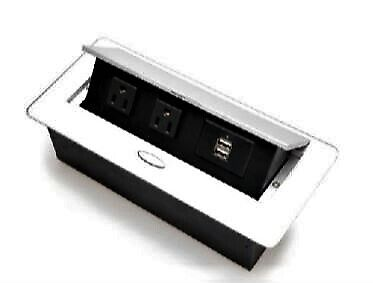 Mulin Electric Pop Up Power Outlet Box for Tables, Desks & Sofas - MLCZ005