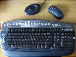 Microsoft Keyboard & mouse with Dongle