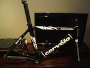 2007 Cervelo SLC-SL 54 cm Carbon Road Bike Frameset