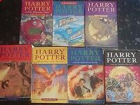 Full Set Harry Potter Paperback Books Bloomsbury Rowling Philosopher's Stone