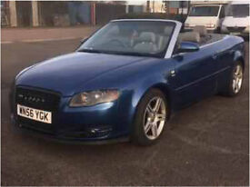 Audi A4 cabriolet 1.8t 56plate