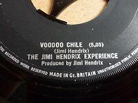 Jimmy Hendrix Voodoo Chile 45rpm Vinyl Single Collectors item