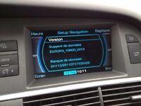 Latest 2017 Sat Nav Disc Update for Audi MMI 2G HIGH Navigation Map DVD. www latestsatnav co uk