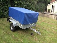 CAMPING / DIY EXTENDABLE HEIGHT TRAILER + COVER