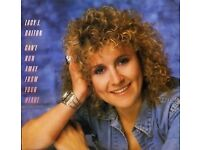 Lucy J. Dalton - Can't Run Away From Your Heart - Vinyl Record - Excellent Condition