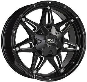 "18"" FX Wheels Dodge Ram Toyota Tundra Wheel Black Rim 18"