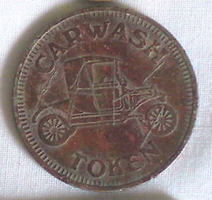 COLLECTABLE FORD MODEL T CAR WASH TOKEN ((SEE MY OTHER ADS))