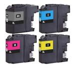 Brother LC-123 Multipack (huismerk inktcartridges)