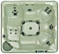 Beachcomber Hot tub 725-Neck, back and feet configurations