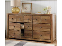 2 identical chest of drawers from next + 1 matching tv unit from NEXT selling for £650! RRP £1099