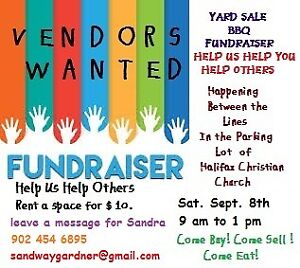 Fundraiser Yard Sale and BBQ