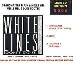 3 inch cds - Grandmaster Flash and Melle Mel - White Lines..