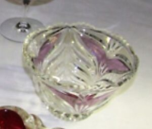 DECORATIVE CRYSTAL BOWL