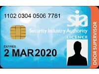 Looking for Part Time Security Job. (SIA)