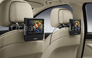 Genuine BMW In Car DVD Entertainment System - Twin Screen