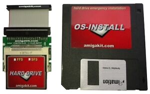 AMIGA 4GB HARD DISK DRIVE CF 1200 600 A1200 A600 FORMATTED *NEW*