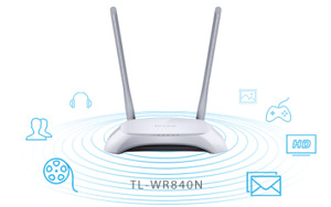 TP-Link --- 300Mbps Wireless N RouterTL-WR840N