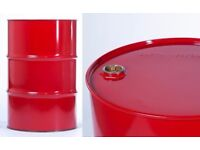 205 ltr/45 Gallon Tight head Metal drums/barrels, For burner, BBQ, storage etc