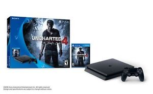 BRAND NEW SEALED BOX PS4 UNCHARTED 4 A THIEFS END BUNDLE