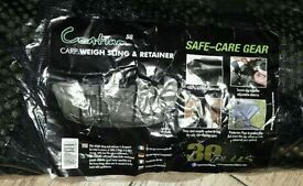 Brand new carp weigh sling and retainer