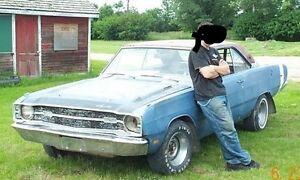 WANTED 1967-1968 Dodge Dart parts car