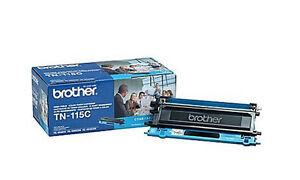 10 partially full TONER cartridges for BROTHER laser printers