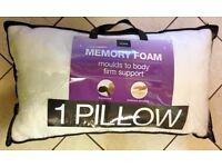 Dormeo Memosan Anatomic Memory Pillow + One SilentNight Memory Foam Pillow - Wembley
