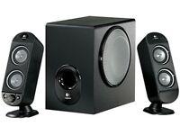 Logitech X230 2.1 channel PC multimedia speaker system