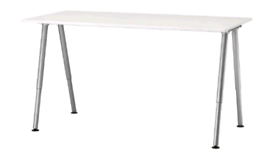Ikea THYGE height adjustable tables / desks - 6 available