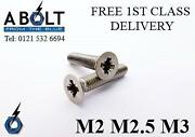 M2 Machine Screws