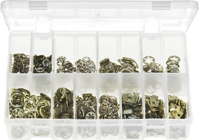 Assorted Box of  Flat Clips Push on Fix / Fasteners 1000 pc  - AB50