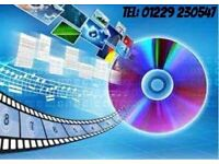 FILM & AUDIO CONVERSIONS Incl: VHS, CAMCORDER, 8mm.