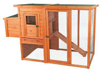 Trixie 55961 Pet Products Chicken Coop with Outdoor Run