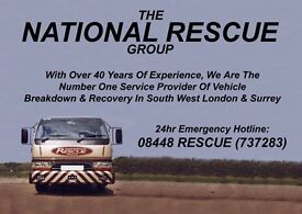 Roadside Technician/Recovery Driver (7.5t Licence or Higher)