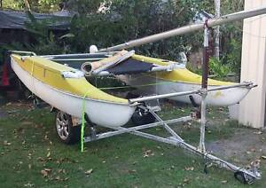 18ft Sailing Cat + Trailer Townsville Townsville City Preview