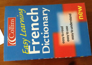Collins easy French Dictionary for sale