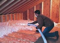ATTIC INSULATION UPGRADE - Save 20% - 50% on your heating costs!