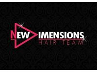Hairstylist full or part time required