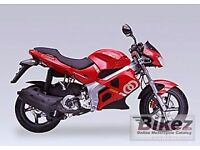 gilera dna 125 or any other moped or geard bike