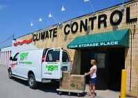 6x14' Climate Controlled Storage U-Haul At 5025 Walker Rd.