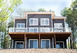 NEW & LARGE Lakefront Cottage for $449,000. Move-In Ready!
