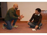 Free actEnglish Workshop - learn English through drama