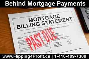 Are you Behind your Mortgage Payments in Kitchener