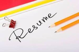 CV and Cover Letter Writing Service Perth Perth City Area Preview