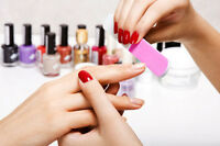 Looking for a licensed nail tech - aesthetician