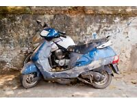Do you have a rundown or scrap motorbike or scooter. Porject 'YEP' Young Engineers Project