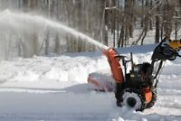 Snow removal snowplowing snow blowing COBOURG