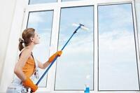 cleaning and washing windows and doors