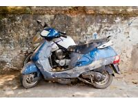motorbikes non runners mot fail uplifted for free