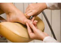 Foot Health Practitioner Home Visits ESSEX (CHELMSFORD/MALDON/WITHAM/BRAINTREE)